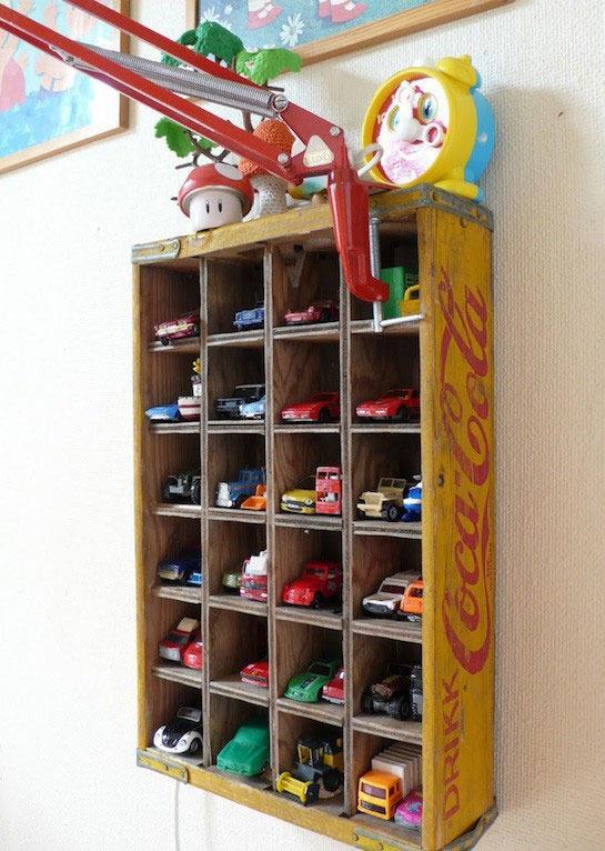 Полки для машинок в детской - Фото 1
