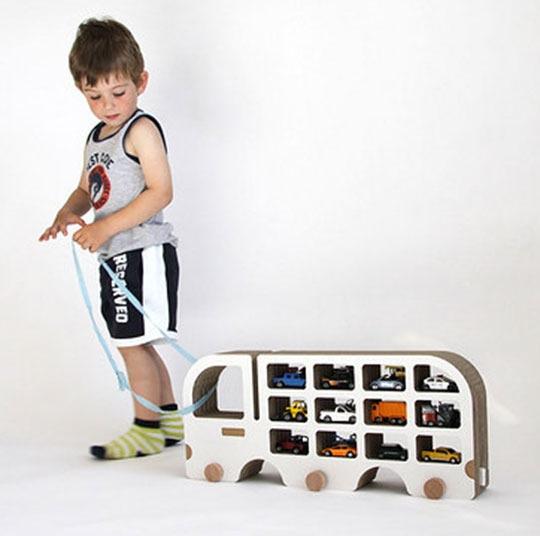 Полки для машинок в детской - Фото 3