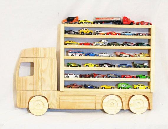 Полки для машинок в детской - Фото 4