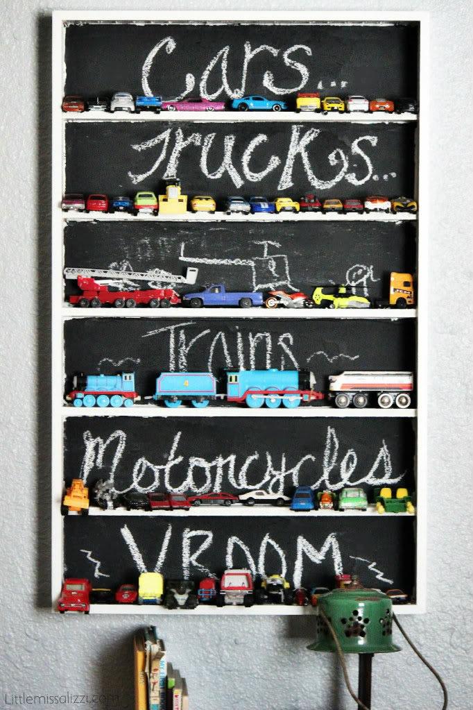 Полки для машинок в детской - Фото 5