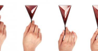 Рахул Агарвал: складные мерные ложки по принципу листа бумаги в оригами