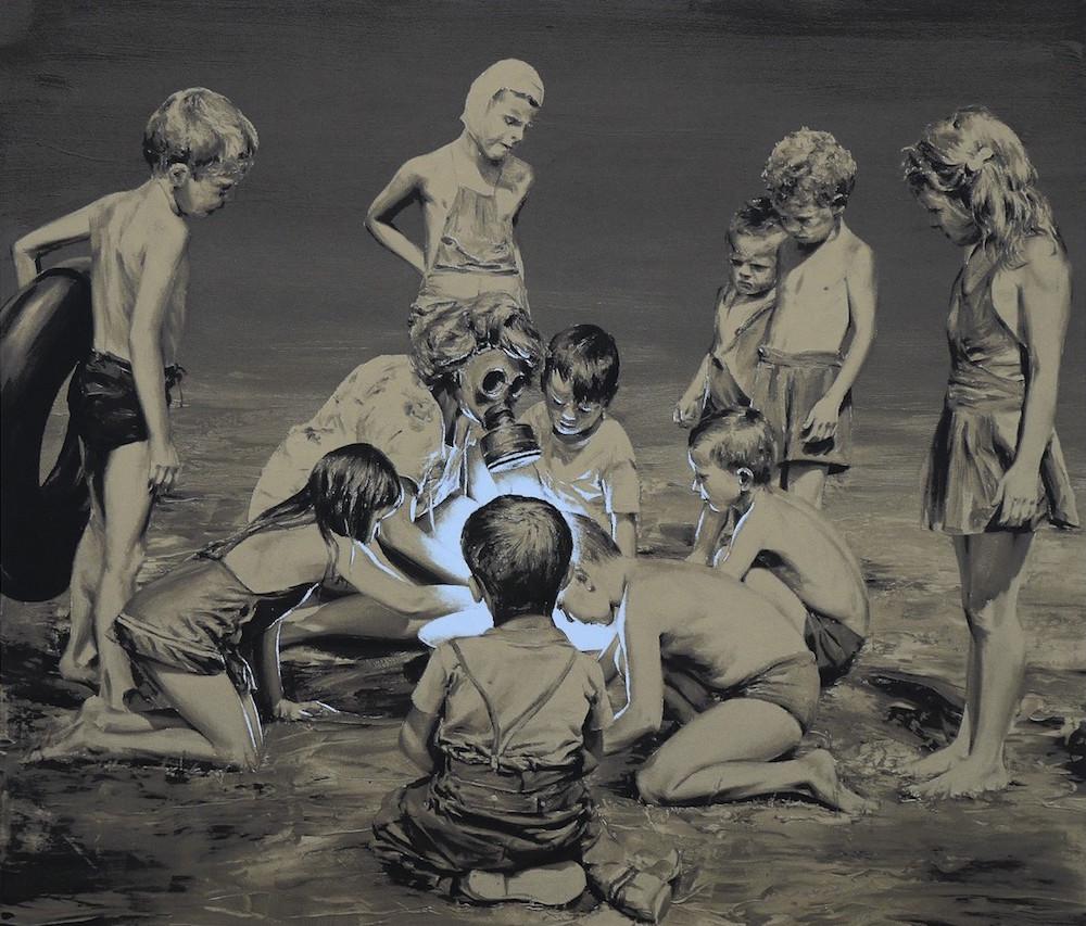 Юмор и ирония художника Пако Помета: сюрреалистические картины маслом в гибридной технике