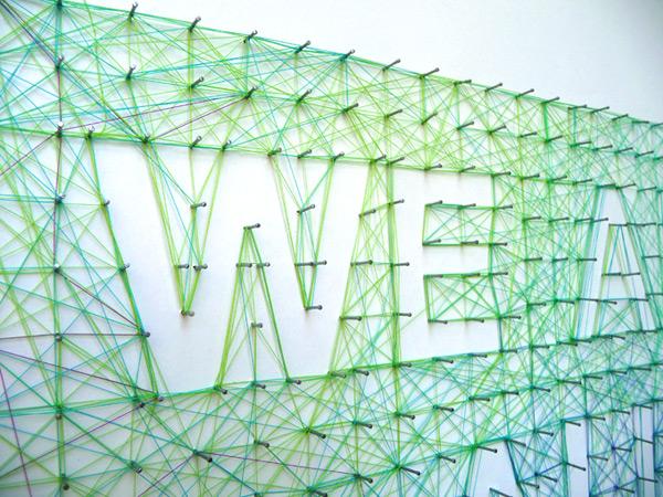 Концептуальная инсталляция от Dominique Falla