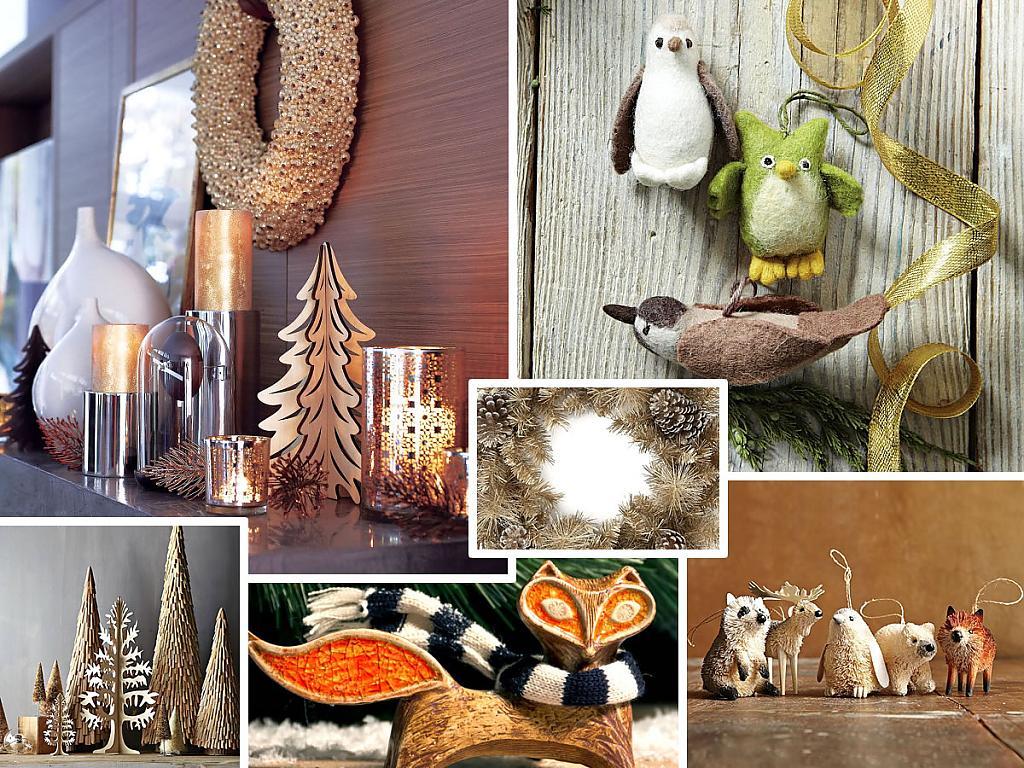 Разнообразные праздничные украшения