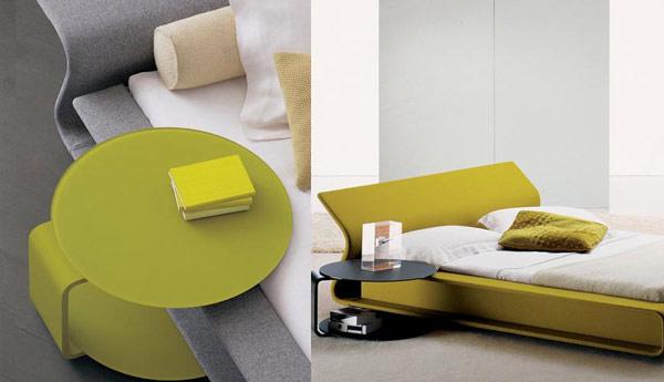 Бесподобная прикроватная тумбочка в интерьере спальни