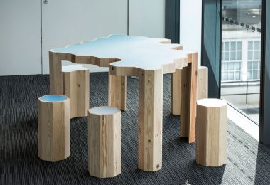 Мебель из отходов от Bloomberg