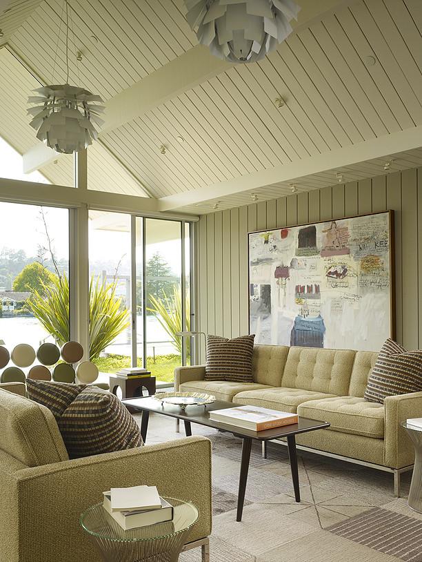 Уникальный дизайн интерьера особняка Eichler от Joseph