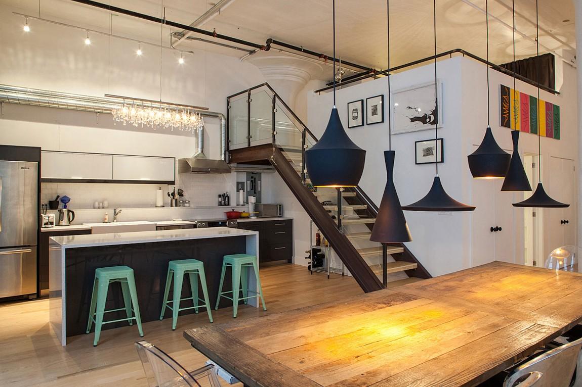 Дизайн интерьера дома в Торонто