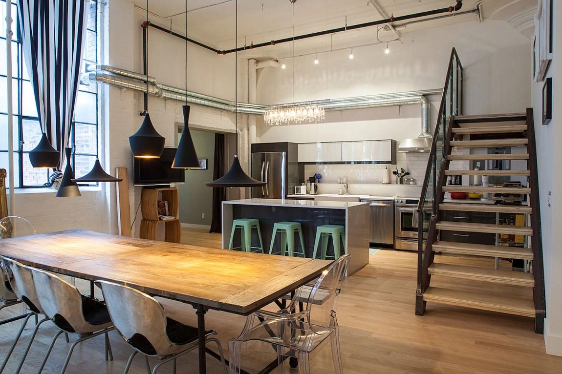 Восхитительный дизайн интерьера дома в Торонто