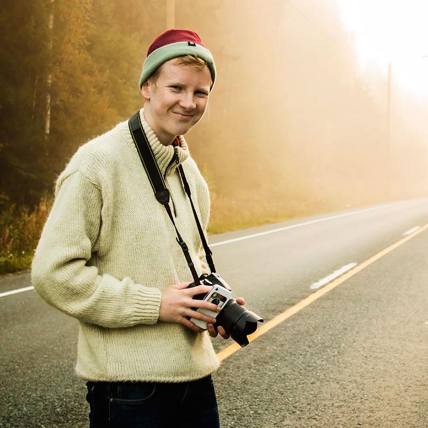 Финский фотограф Конста Пункка