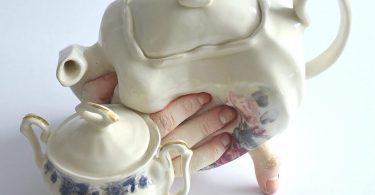 Уникальная посуда из керамики от Ронит Баранги