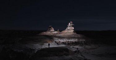 «Lux Noctis» от Рубена Ву: потрясающая ночная съёмка с беспилотника горных пейзажей США