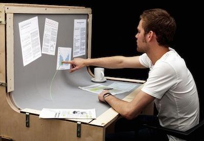 Очаровательный рабочий стол BendDesk