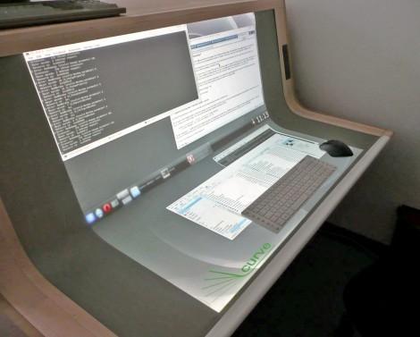 Прекрасный рабочий стол BendDesk