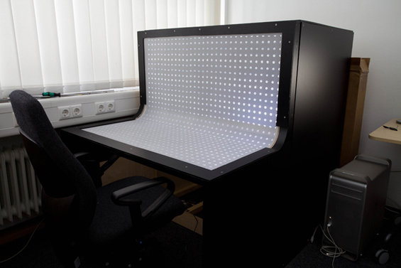 Необычный рабочий стол BendDesk
