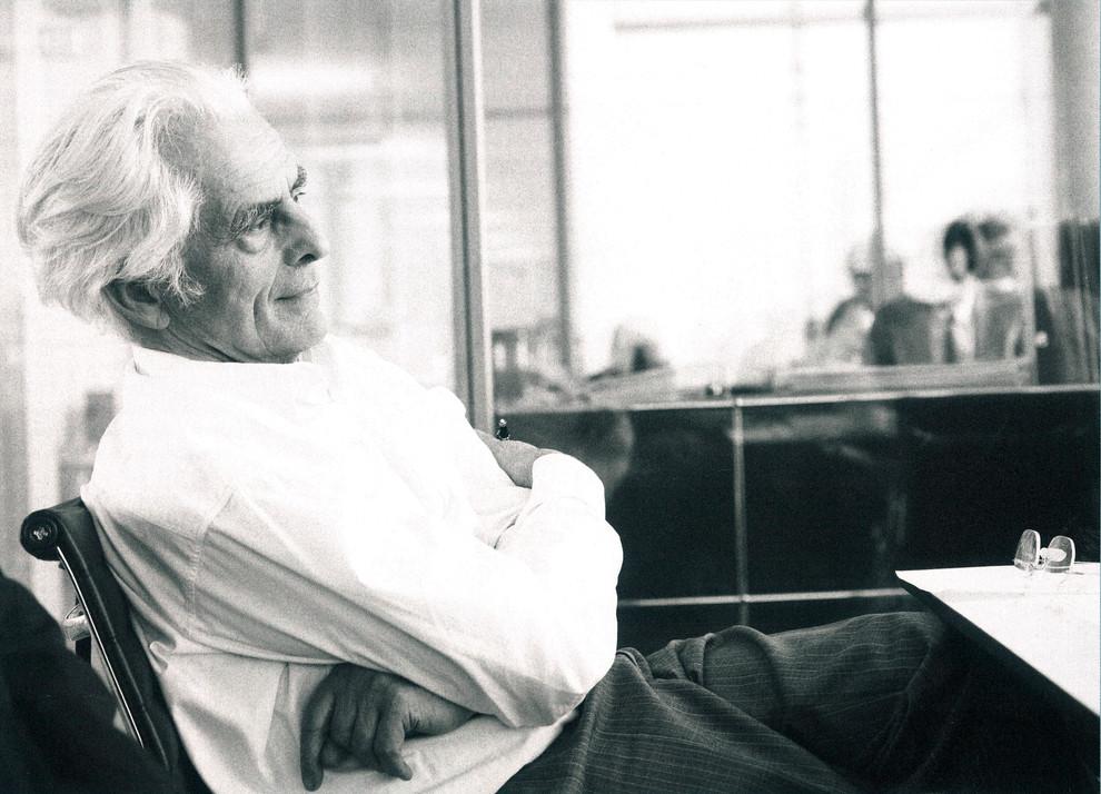 Известный немецкий архитектор Frei Otto