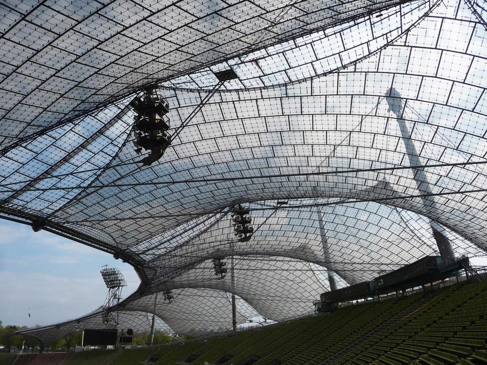 Красивый архитектурный шедевр от Frei Otto