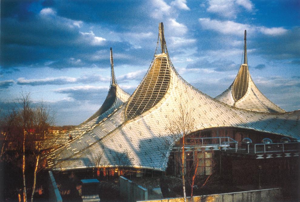 Необычный архитектурный шедевр от Frei Otto