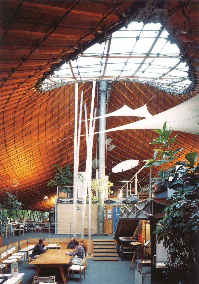 Креативный архитектурный шедевр от Frei Otto