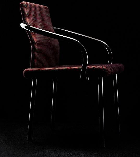 Радикальный дизайн стула для компании Olivetti