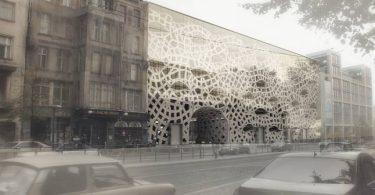 Инновации - распечатанное здание