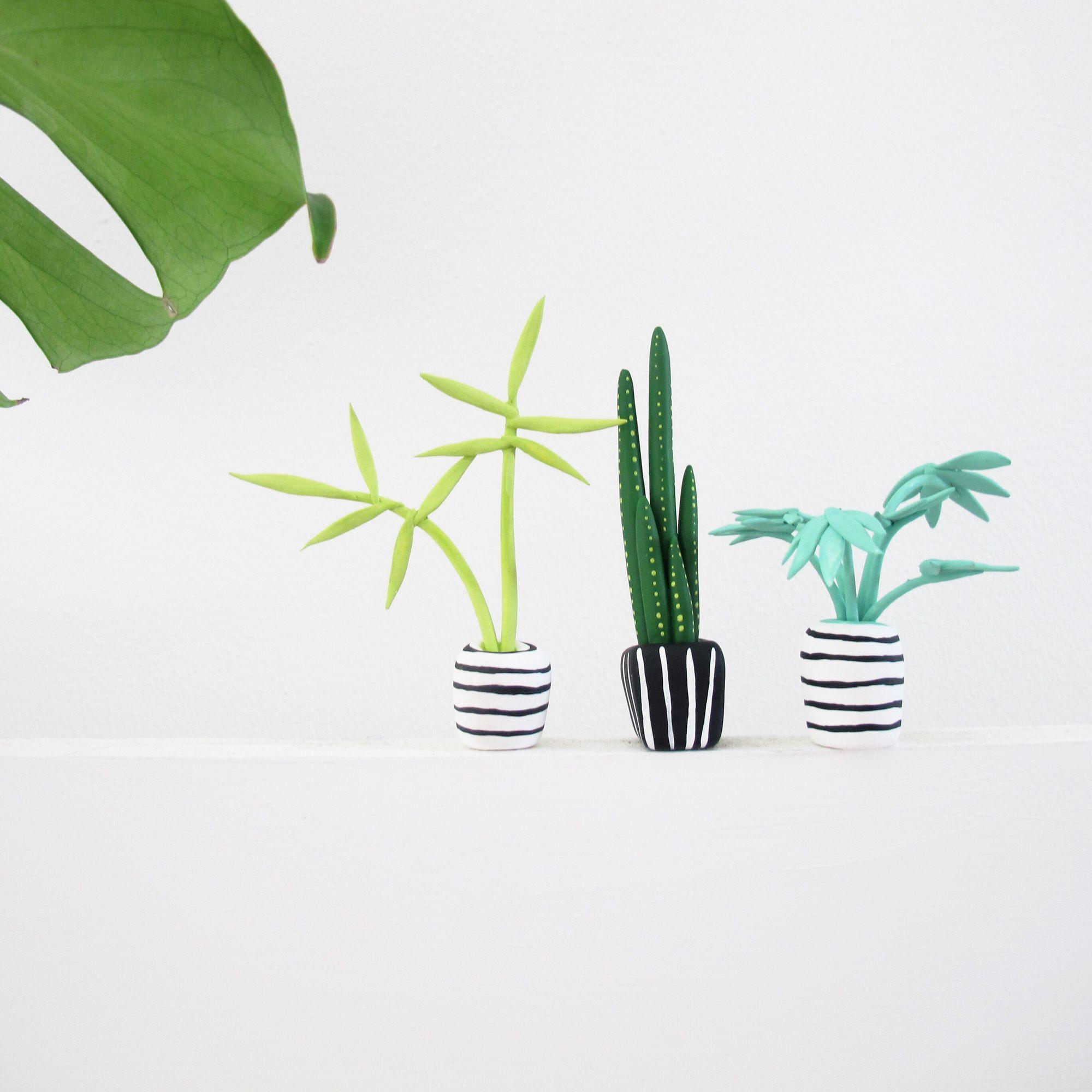 Необычные растения из полимерной глины - Фото 2