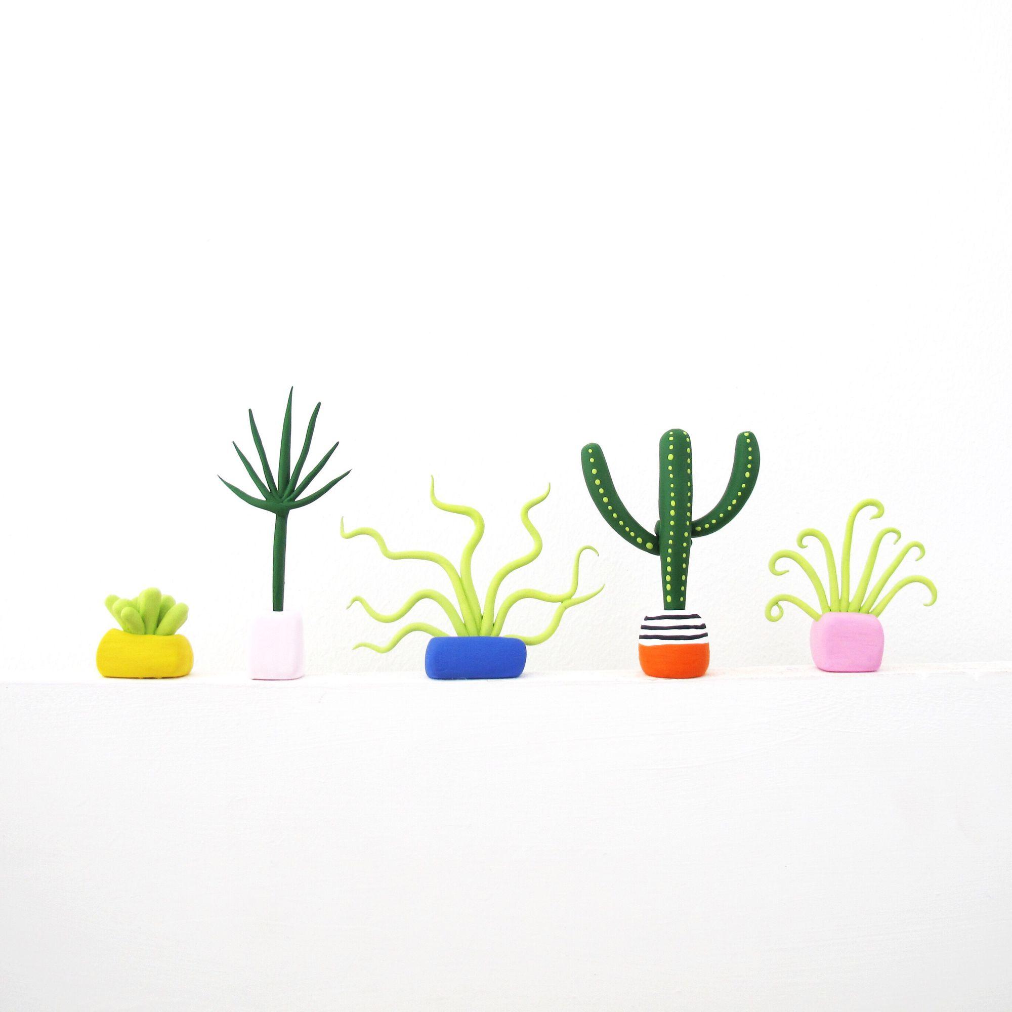 Необычные растения из полимерной глины - Фото 3
