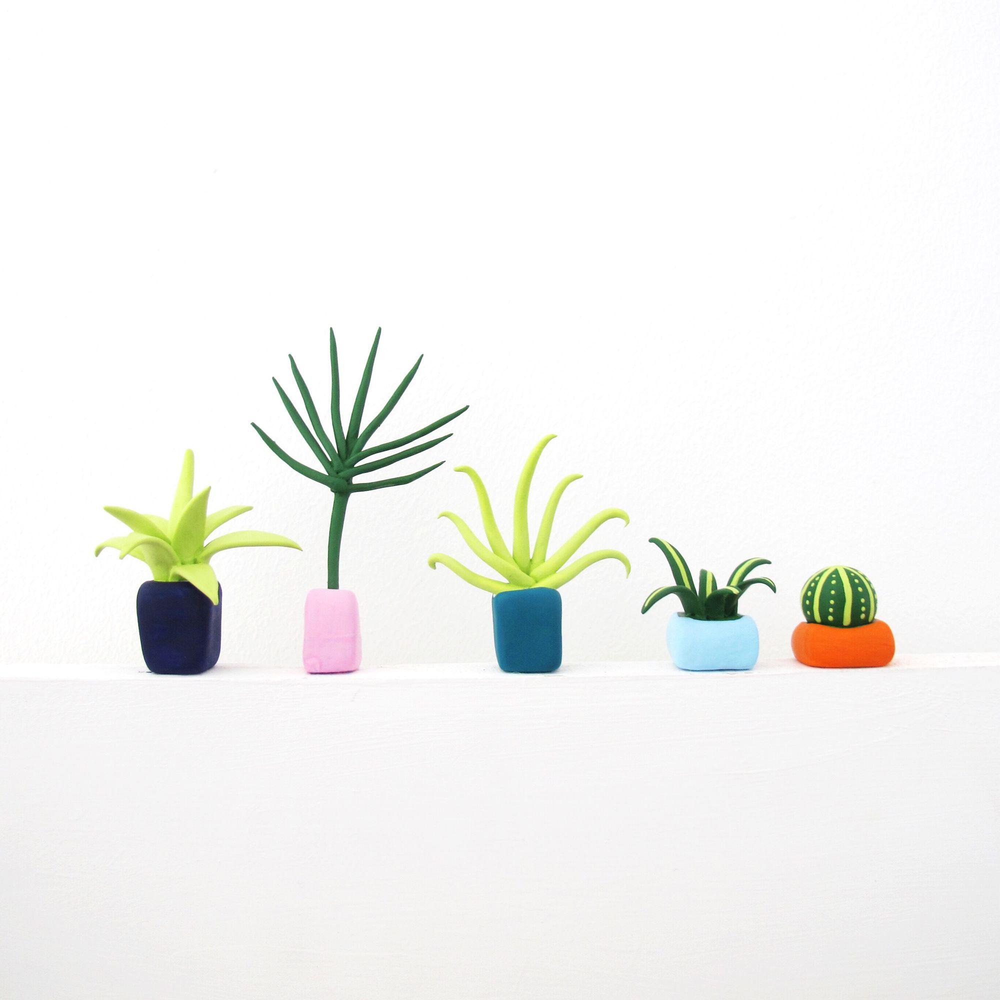 Необычные растения из полимерной глины - Фото 4