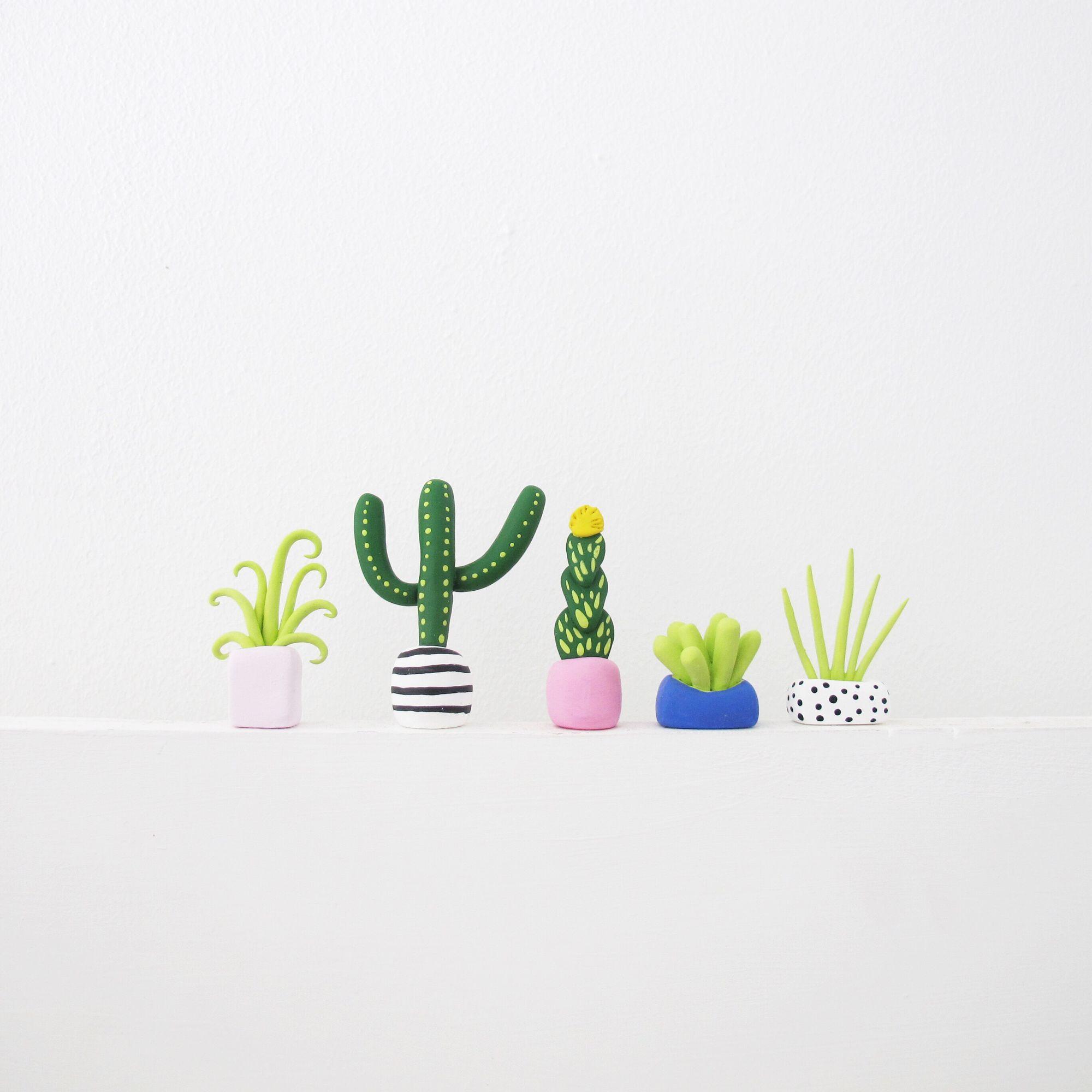 Необычные растения из полимерной глины - Фото 5