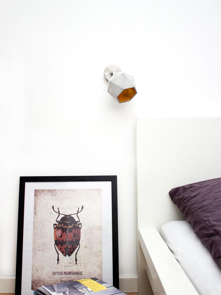 Настенный светильник Triangulate от баварского дизайнера Stefan Gant