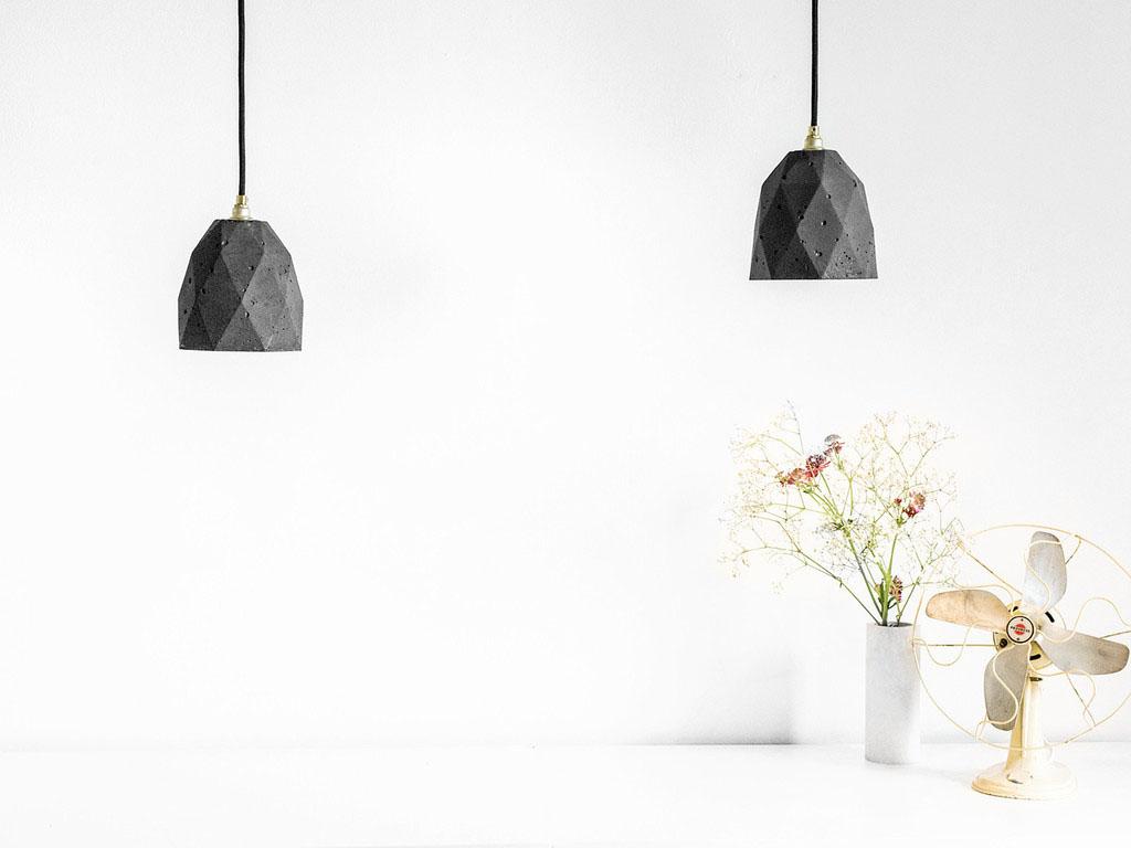 Уникальные подвесные светильники Triangulate от баварского дизайнера Stefan Gant