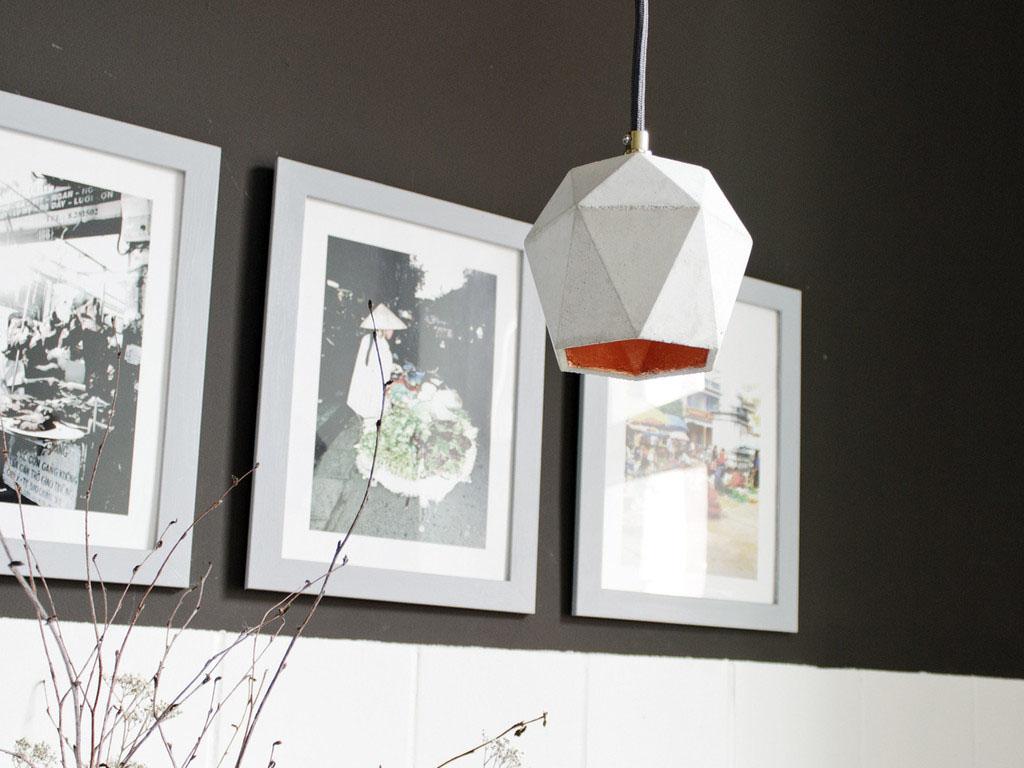 Чудесный подвесной светильник Triangulate от баварского дизайнера Stefan Gant