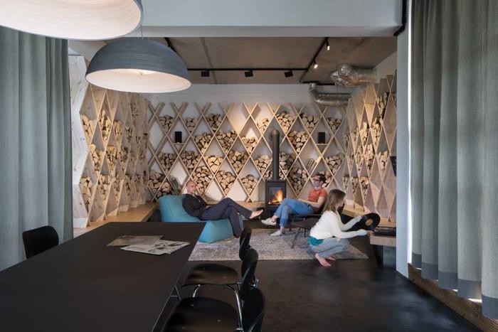 Уникальная зона отдыха для персонала компании SoundCloud