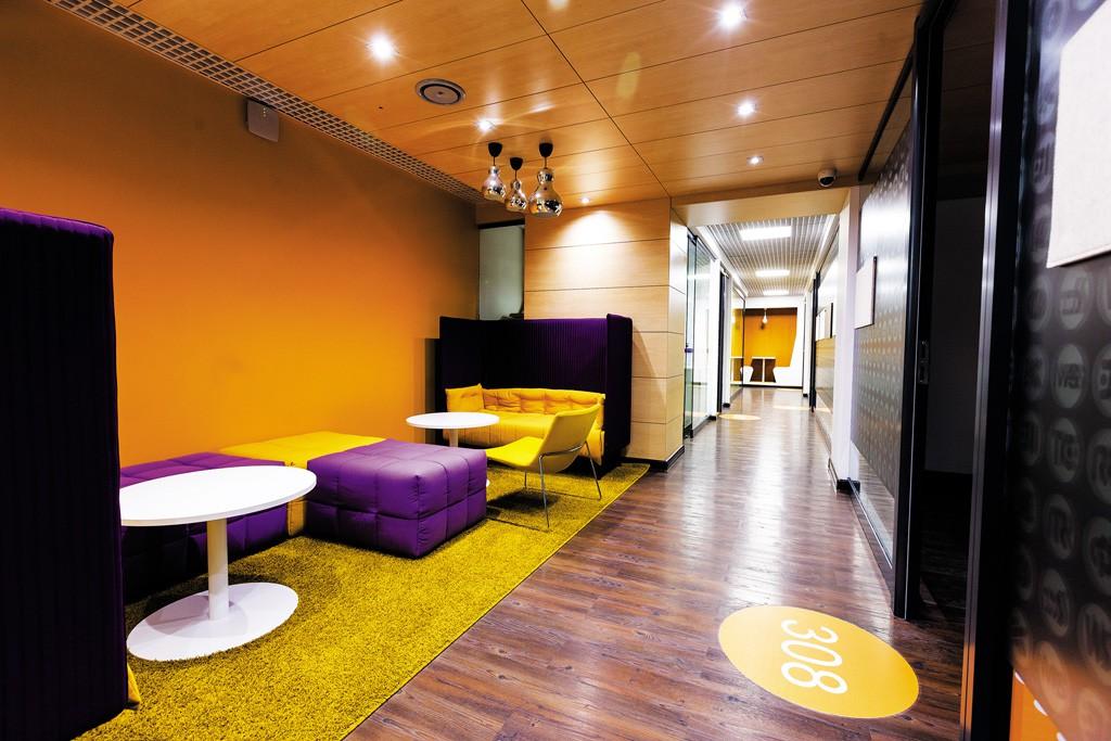 Уникальная зона отдыха для персонала компании JetBrains