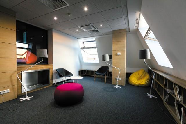 Дивная зона отдыха для персонала компании JetBrains