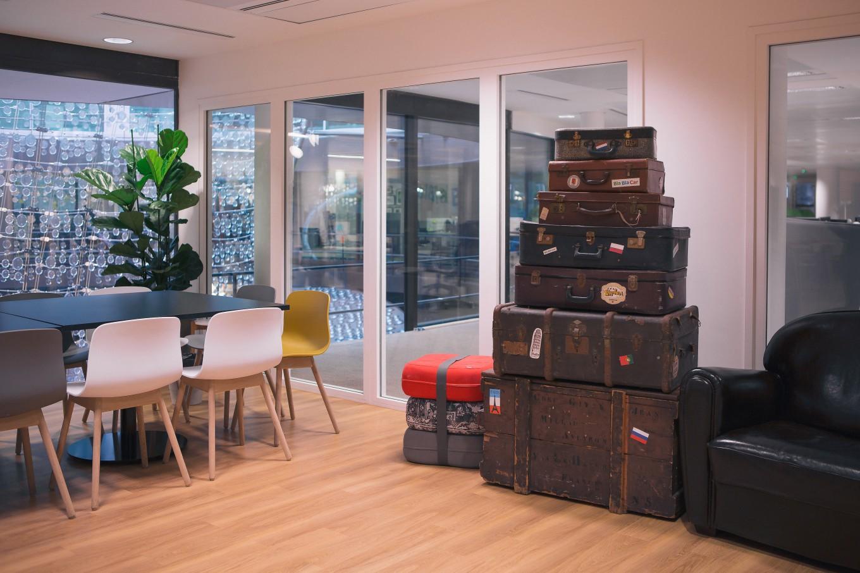 Сногшибательная зона отдыха для персонала компании BlaBlaCar