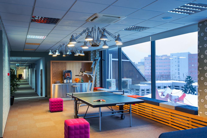 Уникальная зона отдыха для персонала знаменитой компании T-Systems