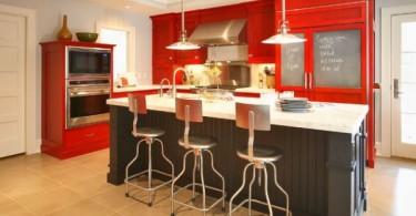 red-kitchen-interior-design