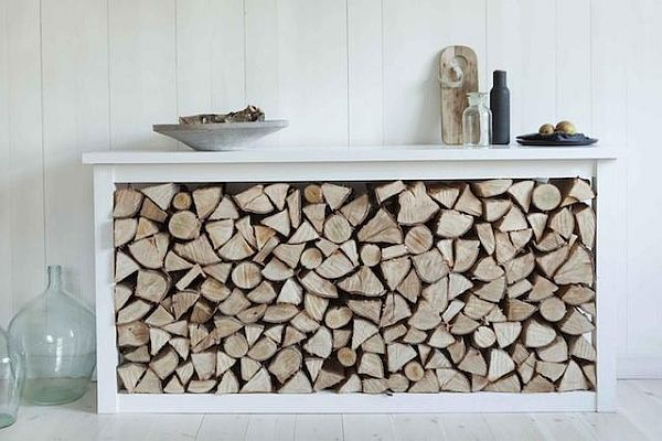 Стеллаж для хранения дров своими руками