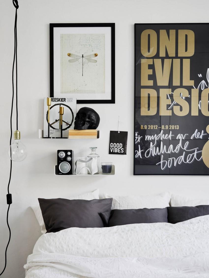 Креативный дизайн интерьера спальни