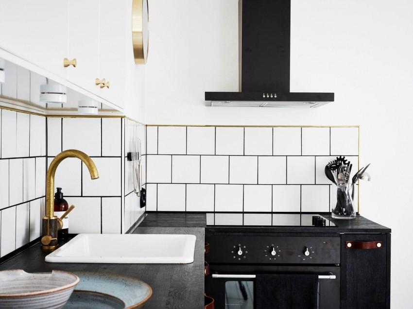 Незабываемый интерьер кухни в скандинавском стиле