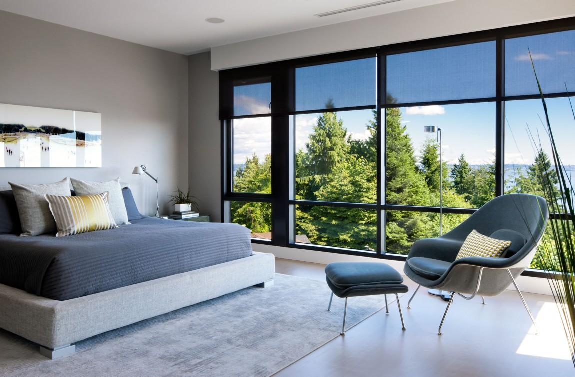 Дивные шторы в дизайне интерьера помещения