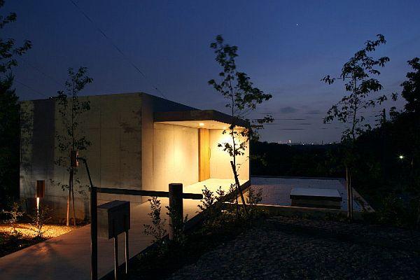 Ночное освещение в особняке в Minamiyama