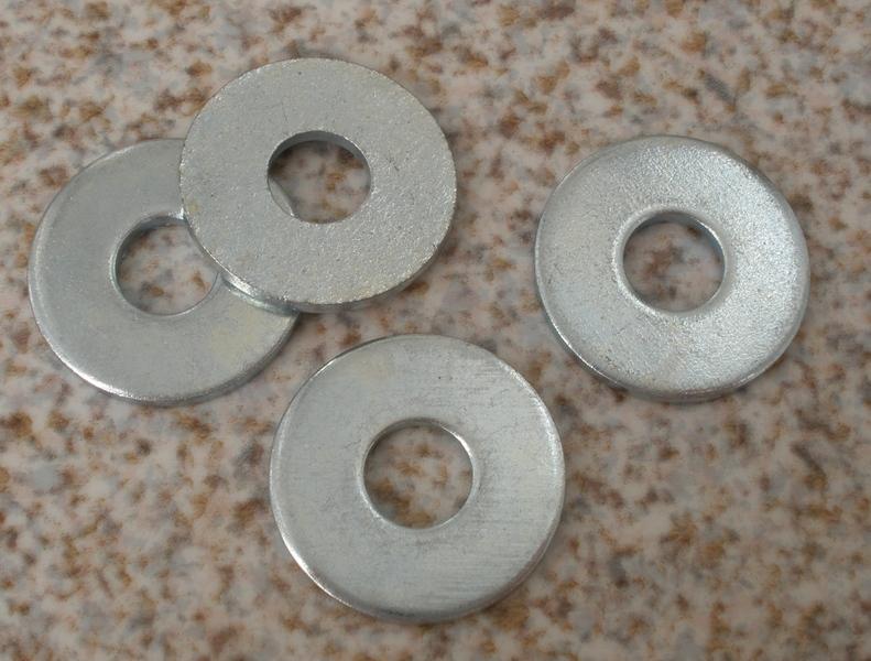 Металлические шайбы для украшения