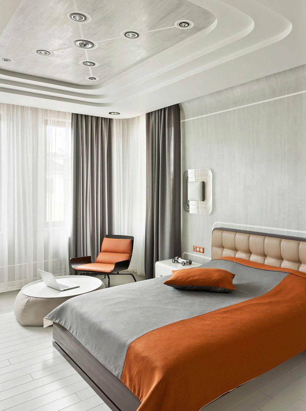 Великолепные шторы в дизайне интерьера помещения