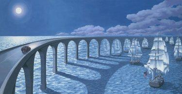 Магический реализм Роберта Гонсалвеса: сюрреалистические картины с эффектом оптических иллюзий
