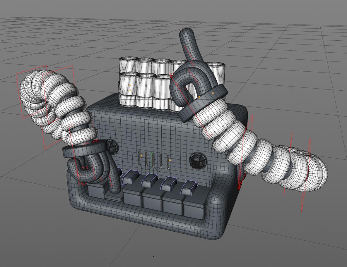 Robots músicos en el clip de animación del estudio Animade.