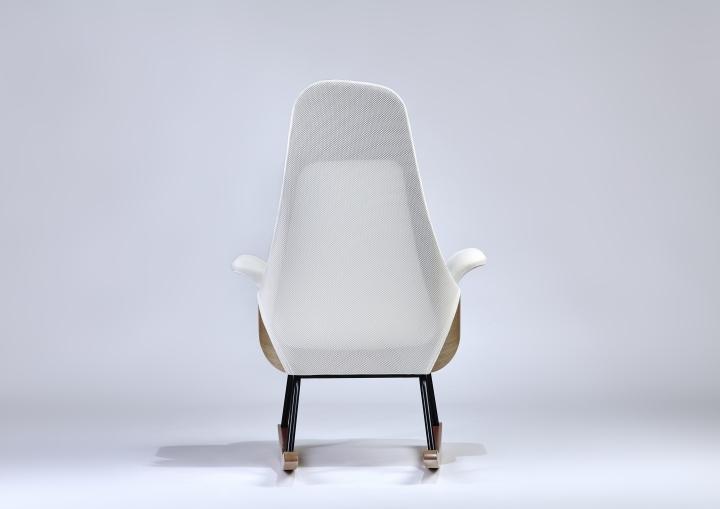 Спинкая кресла-качалки