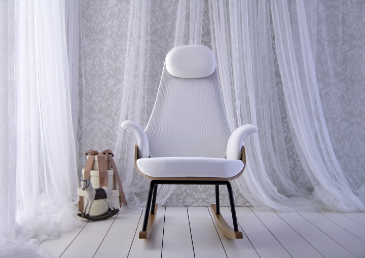 Великолепное кресло-качалка NANA от Alegre Design