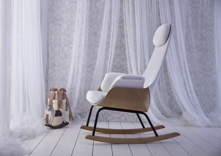 Очаровательное кресло-качалка NANA от Alegre Design